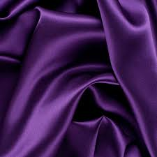 Purple Mood Majesty Purple Stretch Silk Charmeuse Fabric By The Yard Mood