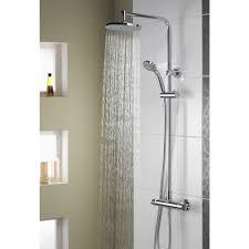 aqualisa midas plus thermostatic bar mixer shower