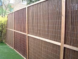 Types Of Garden Fences - panels