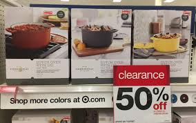 target black friday threshhold clearance alert threshold 6 quart cast iron dutch oven only