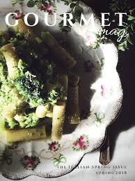 mag cuisine an food magazine made in italy the gourmet mag