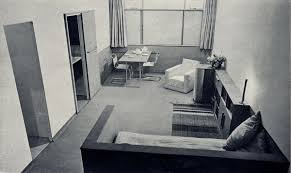 lawn road flats interior hampstead london nw3 by isokon