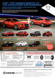 mazda car models list singapore motorshow 2015 mazda deals promotions and price list