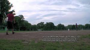 worth mutant worth mutant 120 jeff 2010 softball bat bp demo