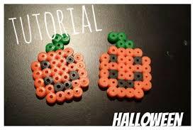 especial halloween mini calabaza de hama beads youtube