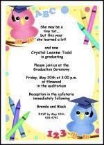 preschool graduation invitations customize your tots preschool graduating ceremony