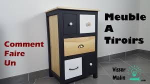 Faire Un Meuble Tv En Palette by Comment Fabriquer Un Meuble à Tiroirs Ep32 Youtube