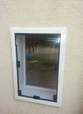 doggie door in glass door dog and cat pet door installation los angeles san diego orange