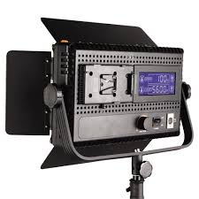 led studio lighting kit 576 led bi color changing dimmable video light panel dual color