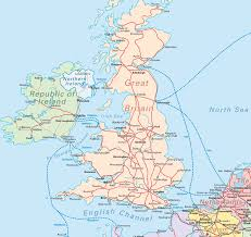 Map Of England And Ireland by Google Maps Europe Map Of Great Britain Pictures