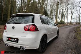 golf volkswagen 2004 remus sport quad exhaust for 2004 09 vw golf gti mk v 955108 1584c