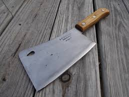 meat cleaver from briddell by appalachianaxeworks on etsy knives
