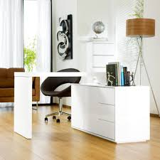Dwell Office Desk Executive Office Desk White Dwell