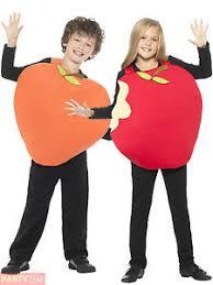 child apple peach costume boys girls fruit fancy dress kids book