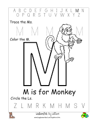 15 best images of free letter m worksheets free printable letter