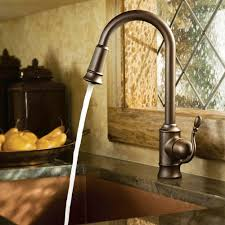 Pull Down Spray Kitchen Faucet Moen Woodmere Single Handle Pull Down Sprayer Kitchen Faucet