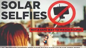 Take A Selfie Don U0027t Take A Selfie With The Solar Eclipse Nbc 2 Com Wbbh News