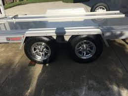 Trailer Garage by Fs Trailex Aluminum Trailer Ct 7541 Always Garaged Corvetteforum