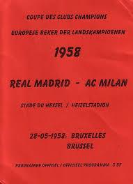1958 European Cup Final