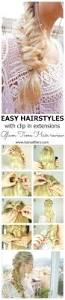 Tap In Hair Extensions by Best 25 Hairstyles With Extensions Ideas On Pinterest Extension