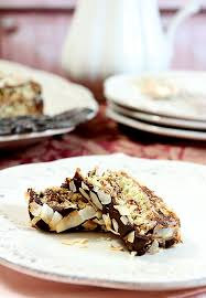 triple layer chocolate macaroon cake by françois payard creative