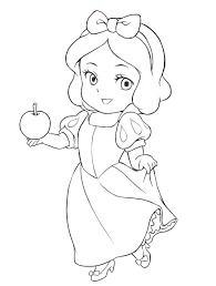 baby disney princess coloring coloring