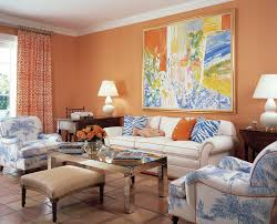 peach paint color for living room inspirations and colors images