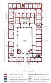 roman insula floor plan regio ii insula v caserma dei vigili ii v 1 2