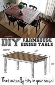 farmhouse kitchen furniture diy farmhouse table from iheartnaptime dining room