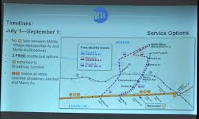 Mta Bus Routes Map by Will Free Shuttle Buses Be Enough To Move People Around Ridgewood