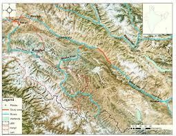Himalayan Mountains Map Jamwal Ps Takpa J Chandan P And Savage M 2016 First