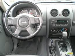 2007 jeep liberty sport 4x4 medium slate gray dashboard photo