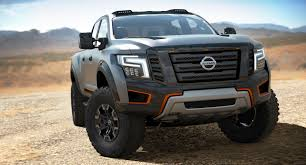 cummins nissan lifted nissan unveils the titan warrior an off roading concept with