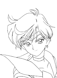 sailor uranus hero coloring pages for kids he2 printable sailor