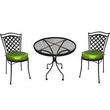 Black Rod Iron Patio Furniture Gorgeous Rod Iron Chairs With Black Wrought Iron Patio Table And