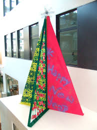 have a pop art christmas studying at bellerbys college