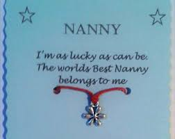 mothers day gift for nanny step gift mothers day gift friendship bracelet cord