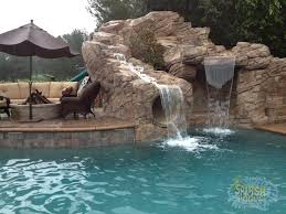 rock waterfalls for pools swimming pools with slides and waterfalls 15 rock waterfall with