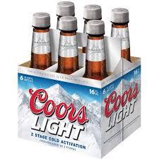 coors light gift ideas beer dummy brand coors light 6 16 pb walmart com