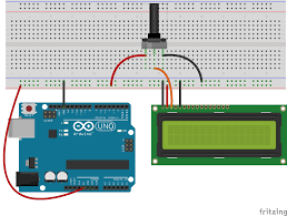 how to set up an lcd with arduino programming electronics academy