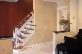 adding pizazz to an entrance and stairway miriam stern color