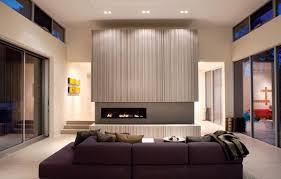 Color Schemes For Living Room With Brown Furniture How To Match A Purple Sofa To Your Living Room Décor