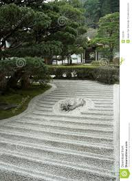 japanese rock garden zen garden royalty free stock photo image