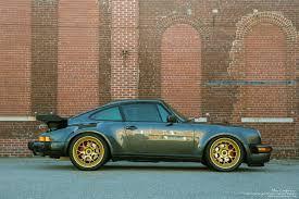 gold porsche 911 porsche 911 930 turbo brixton forged wheels