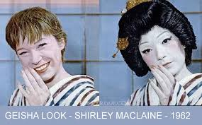 shirley maclaine transforms into a geisha u2013 1961 glamourdaze