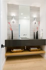 Powder Room Vanities Contemporary Portfolio Update A Contemporary Cottage In Woods Cove Laguna