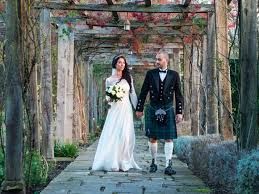 scottish wedding dresses wedding dress elegance for a winter scottish