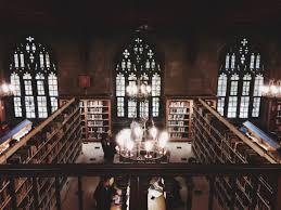study books autumn hogwarts toronto library 19th century