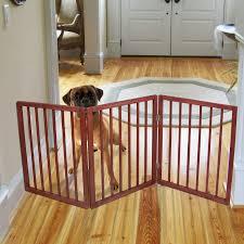 Child Gate Stairs by Pet Parade Freestanding Pet Gate Walmart Com