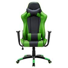 amazon com giantex high back racing style gaming chair reclining